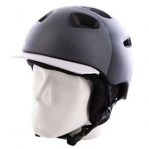 Шлем Bern G2 Matte Zipmold Black Hatstyle W/ Black Knit, 1071341,  Bern, цвет белый, серый, черный