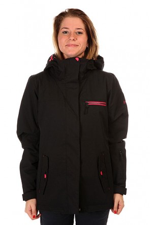 Куртка женская Roxy Jetty Solid Anthracite, 1127650,  Roxy, цвет черный