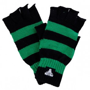 Перчатки женские Fallen Hunter Strip Fingerless Kelly Green/Black, 1098422,  Fallen, цвет зеленый, черный