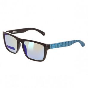 Очки детские Quiksilver Small Fry Black/Blue/Flash, 1142023,  Quiksilver, цвет синий, черный