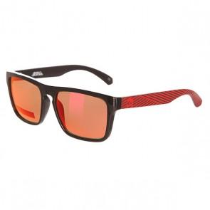 Очки детские Quiksilver Small Fry Black/Red/Ml Red, 1142025,  Quiksilver, цвет красный, черный