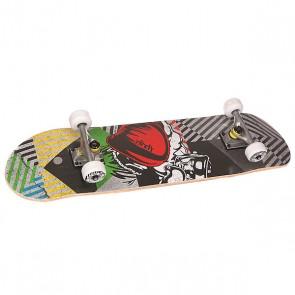 Скейтборд в сборе Fun4U The Boxer Multi 31 x 7.6 (19.3 см), 1146837,  Fun4U, цвет мультиколор