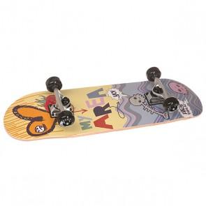 Скейтборд в сборе детский детский Fun4U Sweet Raspberry Multi 28 x 8 (20.3 см), 1146846,  Fun4U, цвет мультиколор