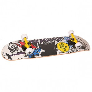 Скейтборд в сборе Fun4U Beware Multi 31.6 x 7.9 (20 см), 1146849,  Fun4U, цвет мультиколор