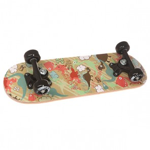 Скейтборд в сборе детский детский Fun4U Dino Garden Multi 20 x 6 (15.2 см), 1146850,  Fun4U, цвет мультиколор