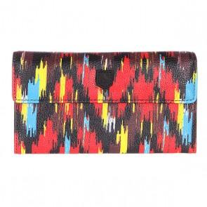 Кошелек женский Burton Wb Tri Fold Wallet Ikat Stripe, 1119007,  Burton, цвет мультиколор