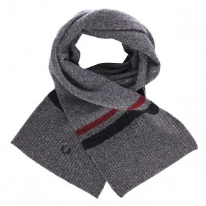 Шарф Fred Perry Tipped Scarf Grey, 1136913,  Fred Perry, цвет серый