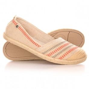 Эспадрильи женские Roxy Flamenco J Shoe Cream, 1142198,  Roxy, цвет бежевый