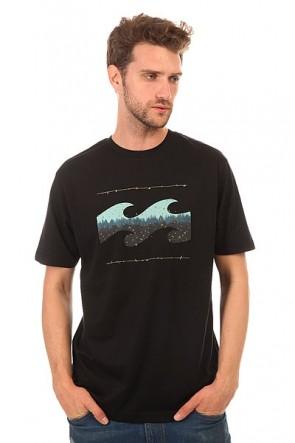 Футболка Billabong Hashed Wave Black, 1149249,  Billabong, цвет черный