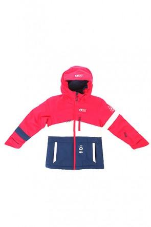 Куртка детская Picture Organic Spice Pink White Dark Blue, 1154391,  Picture Organic, цвет белый, синий, фиолетовый