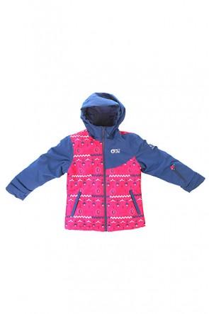 Куртка детская Picture Organic Alice Pink Print, 1154393,  Picture Organic, цвет синий, фиолетовый