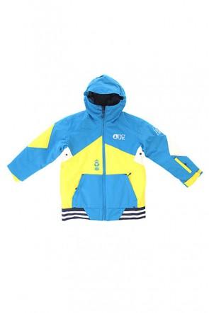 Куртка детская Picture Organic Jura Blue, 1154394,  Picture Organic, цвет желтый, синий