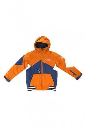 Куртка детская Picture Organic Jura Brown, 1154395,  Picture Organic, цвет коричневый, синий