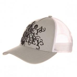 Бейсболка с сеткой женская Oakley Carver Cap Silver Streak, 1154401,  Oakley, цвет серый