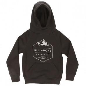 Толстовка сноубордическая детская Billabong Down Hill Black, 1158155,  Billabong, цвет черный