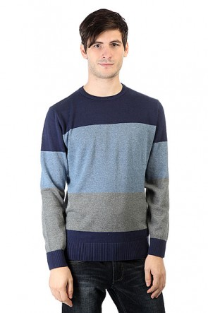 Джемпер DC Bent Bow Blue Iris, 1160307,  DC Shoes, цвет серый, синий