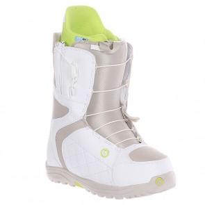 Ботинки для сноуборда женские Burton Mint White/Tan, 1106342,  Burton, цвет белый, зеленый, серый