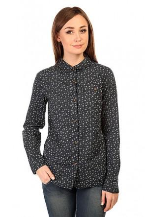 Рубашка женская Burton Wb Mazzy Ls Winter Dot, 1138935,  Burton, цвет синий