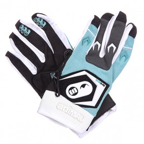 Перчатки женские Animal Heavy Weight Motor Cross Glove Black/Blue/White, 1112266,  Animal, цвет белый, голубой