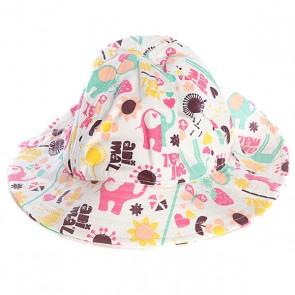 Шляпа женская Animal Bena Multicolor, 1044439,  Animal, цвет белый