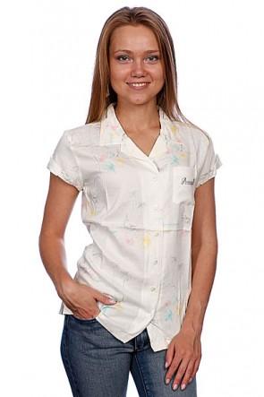Рубашка женская Animal Bittersweet White, 1044346,  Animal, цвет белый