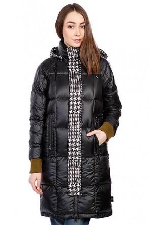 Пальто женское  Burton Lamb Insulator Jkt Big Houndstooth, 1084805,  Burton, цвет зеленый, черный