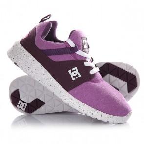 Кроссовки женские DC Heathrow Se Purple, 1145074,  DC Shoes, цвет фиолетовый