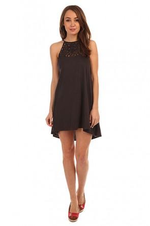 Платье женское Billabong Happy Place Off Black, 1147252,  Billabong, цвет черный