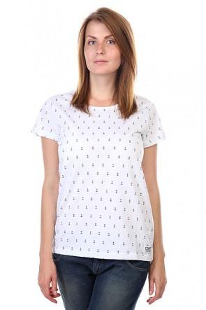 Футболка женская CLWR Artist Tee White Anchor, 1122037,  CLWR, цвет белый