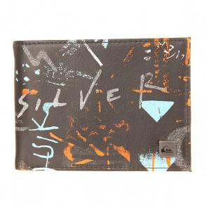 Кошелек Quiksilver Freshness Ii Wllt Hieline Meadowbro, 1154592,  Quiksilver, цвет мультиколор, черный