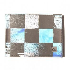 Кошелек Quiksilver Freshness Ii Wllt Chakalapaki Brill, 1154593,  Quiksilver, цвет голубой, черный