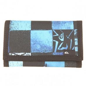 Кошелек Quiksilver Reception Ii Wllt Chakalapaki Brill, 1154595,  Quiksilver, цвет голубой, черный