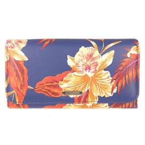 Кошелек женский Roxy My J Wllt Floral Blue, 1154600,  Roxy, цвет синий