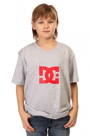 Футболка детская DC Star Ss Heather Grey, 1145170,  DC Shoes, цвет серый