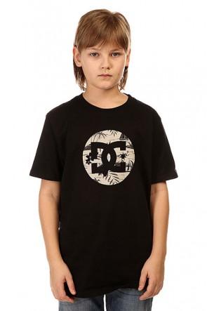 Футболка детская DC Cruiser Isla Black, 1145174,  DC Shoes, цвет черный