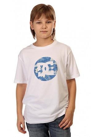 Футболка детская DC Cruiser Isla White, 1145175,  DC Shoes, цвет белый