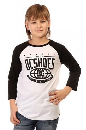 Лонгслив детский DC The Creed Rag Black, 1145180,  DC Shoes, цвет белый, черный