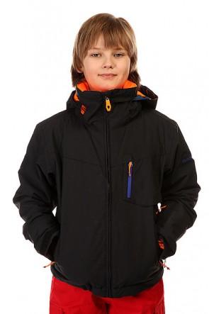Куртка детская Quiksilver Mission Plus Black, 1145216,  Quiksilver, цвет черный