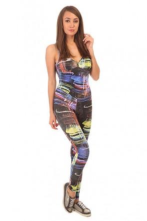 Комбинезон для фитнеса женский CajuBrasil Su Legging Black/City 1, 1152126,  CajuBrasil, цвет мультиколор