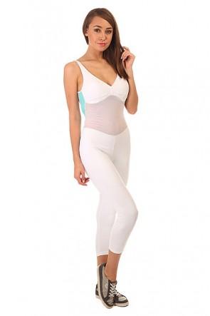 Комбинезон для фитнеса женский CajuBrasil Nz Overall Legging Move White, 1152130,  CajuBrasil, цвет белый