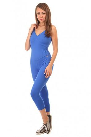 Комбинезон для фитнеса женский CajuBrasil Nz Overall Basic Blue, 1152131,  CajuBrasil, цвет синий
