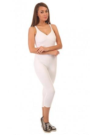 Комбинезон для фитнеса женский CajuBrasil Nz Overall Basic White, 1152133,  CajuBrasil, цвет белый