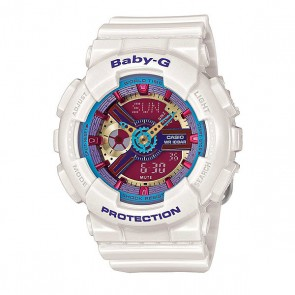 Часы детские Casio G-Shock Baby-G Ba-112-7A White, 1130860,  Casio G-Shock, цвет белый