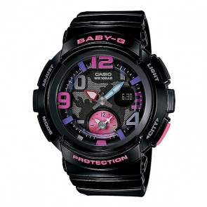 Часы детские Casio G-Shock Baby-G Bga-190-1B Black, 1130873,  Casio G-Shock, цвет черный
