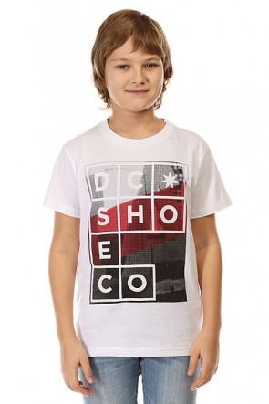 Футболка детская DC La Panel Ss By Tees White, 1142407,  DC Shoes, цвет белый