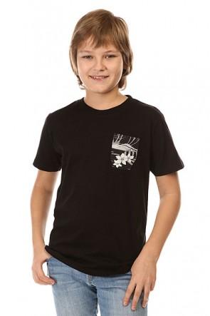 Футболка детская DC Woodglen By Kttp Cruiser Island Black, 1142408,  DC Shoes, цвет черный