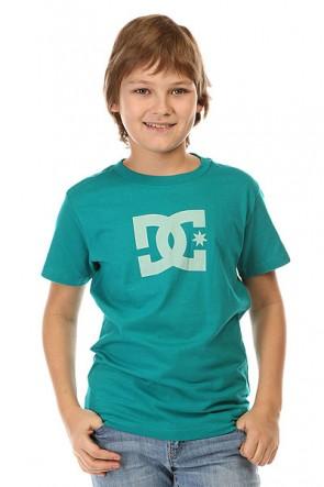 Футболка детская DC Star Ss By Tees Tropical Green, 1142415,  DC Shoes, цвет зеленый