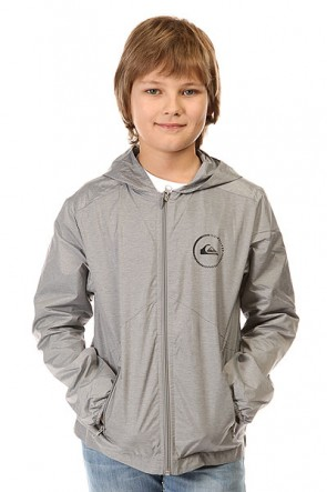 Ветровка детская Quiksilver Every Jackpri You Jckt Light Grey Heather, 1142431,  Quiksilver, цвет серый
