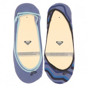 Носки низкие женские Roxy Sneakers Copen Blue, 1149622,  Roxy, цвет голубой, синий