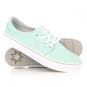 Кеды кроссовки низкие женские DC Trase Tx Blue Mist, 1152255,  DC Shoes, цвет голубой